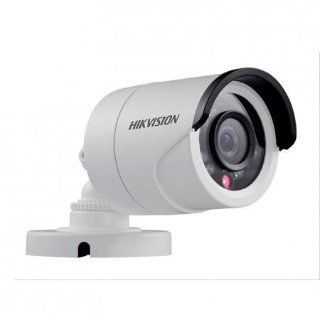 Camera Hd Hikvision 3,6mm Bullet 1mp 720p IR 20mts Plastico DS 2CE16C0T IRPF 4X1