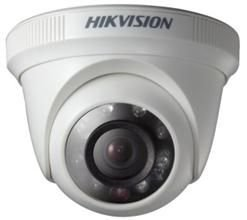 Camera Hd Hikvision 3,6mm Dome 1mp 720p IR 20mts Plastico DS 2CE56C0T IRP