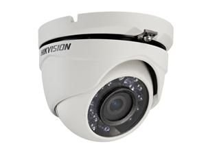 Camera Hd Hikvision 3,6mm Dome 2mp 1080p IR 20mts Plastico DS 2CE56D1T IRM