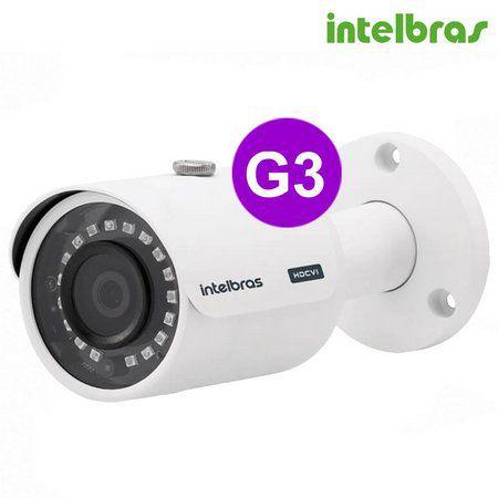 Câmera Intelbras Bullet MULTI HD, VHD  720p IR 30mts 2,8mm - 3130 B G3