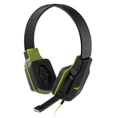 Headset Gamer Multilaser Preto e Verde - PH146