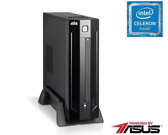 Computador NTC Compact Intel Celeron J1800, 4GB, HD 500GB,  Asus J1800i-C/BR, 180W - 1027