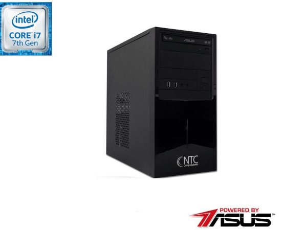 Computador NTC Price Intel Core i7 7700, 8GB, HD 1.0TB, DVD,  Asus H110M-C/BR, 300W - 9103 AS7G