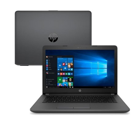 NOTEBOOK HP 246G6 INTEL CORE I3 6006U 4GB 500GB 14 WINDOWS 10 SL PRETO