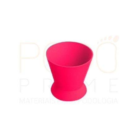 Pote Dappen Grande em silicone cor ROSA, marca Thimon