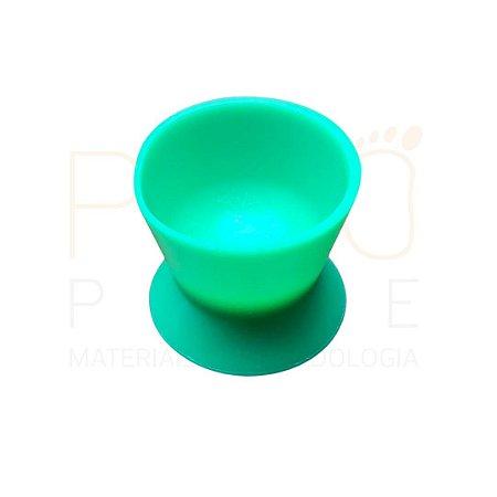 Pote Dappen Grande em silicone cor VERDE CLARO, marca Thimon