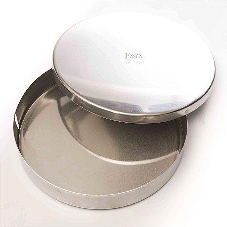 Estojo Redondo Inox para gaze  tubular marca Fava , modelo 197