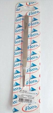 Pinça anatômica sem dente 14cm, marca Fava , modelo PIN020
