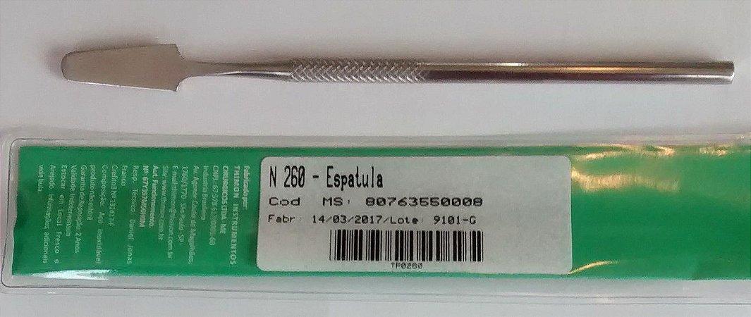 Espatula inox, marca Thimon, modelo N 260
