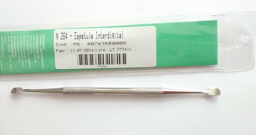 Espatula interdigital em inox, marca Thimon , modelo N 264