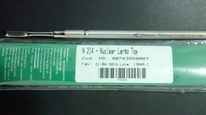 Nuclear Largo, Inox, marca Thimon, modelo N 214 TOP