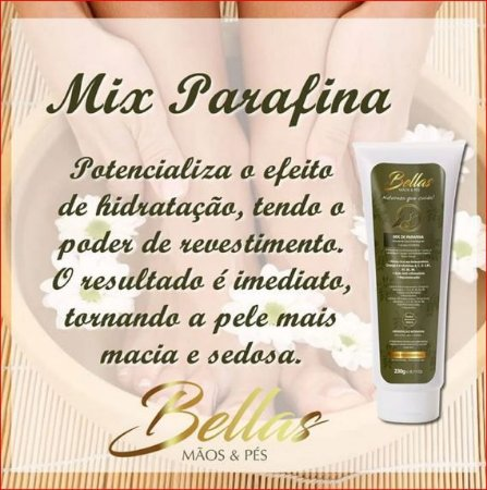 Mix de Parafina Bellas - Bisg. 230g