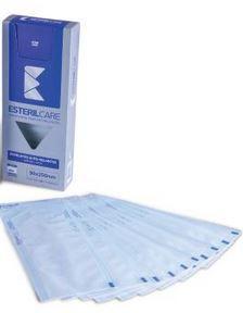 Envelope Auto Selante para esterilização de instrumentos,  15 x 25cm  200un. Marca EsterilCare