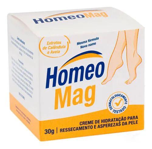 HomeoMag 30g - Creme para Ressecamento e Asperezas da Pele - HM - HP