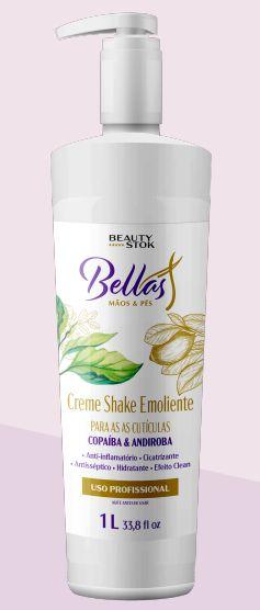 Creme Shake Emoliente Bellas - 1 Litro