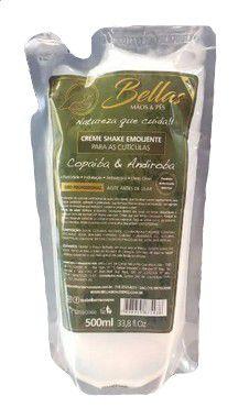 Creme Shake Emoliente Bellas - Refil - 500ml