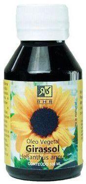 Óleo vegetal Girassol 100ml, marca RHR Essencial