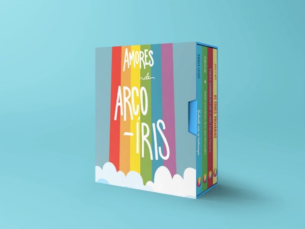Box Amores de Arco-Íris