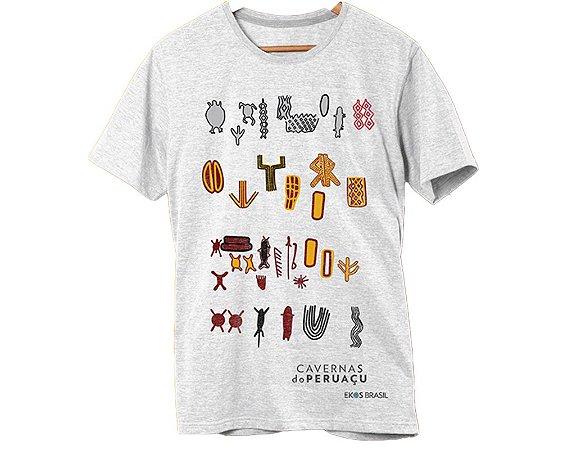 Camiseta Peruaçu Cinza