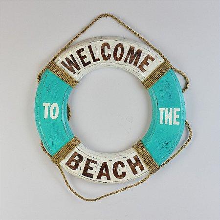 Bóia Welcome Beach 40 cm Tiffany