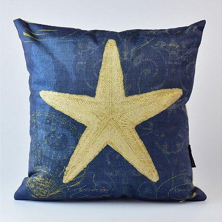 Almofada Náutica Azul Estrela do Mar
