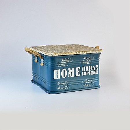Caixa Home Urban Pequena em Metal