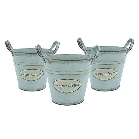 Jogo de Vasos Garden Vintage Azul
