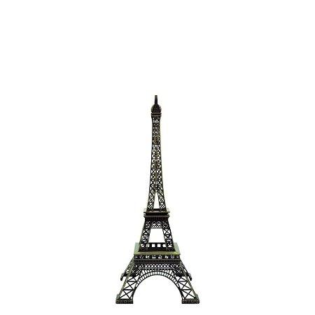 Decorativo Torre Eiffel de Metal Pequeno