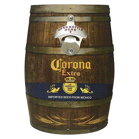 4ebea00445 Abridor de Garrafa Barril Corona - Loja de Artigos para Decoração ...