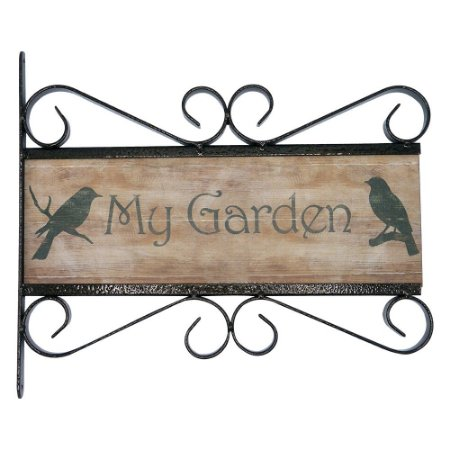 Placa Rústica My Garden