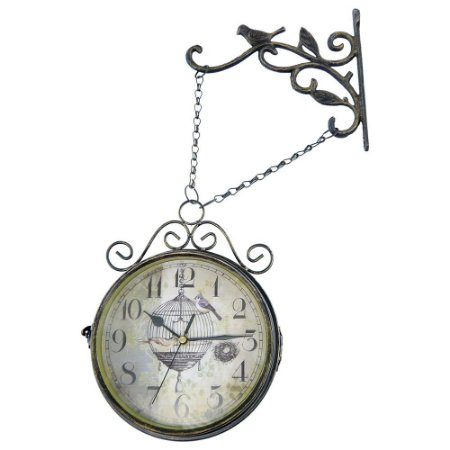 Relógio Vintage Birds