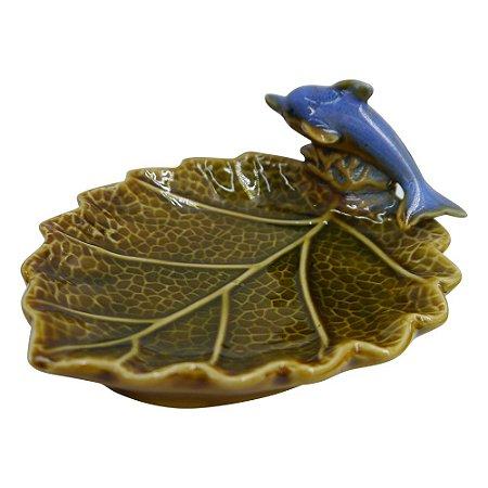 Saboneteira de Cerâmica Golfinho