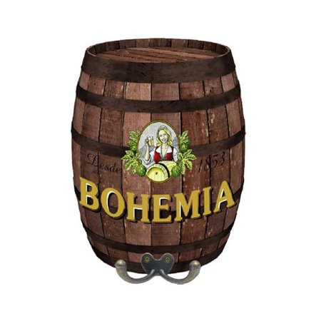 Cabideiro Decorativo Barril P Rústico Bohemia