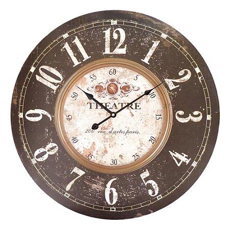 Relógio de Parede Vintage Theatre