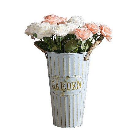 Vaso de Metal Garden Florença