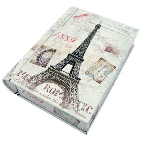 Lata Porta-Objeto Livro Paris