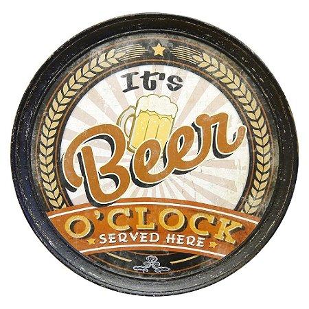 Decorativo de Parede Tampa de Barril Beer