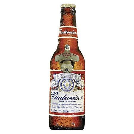 Abridor de Garrafa de Parede Budweiser