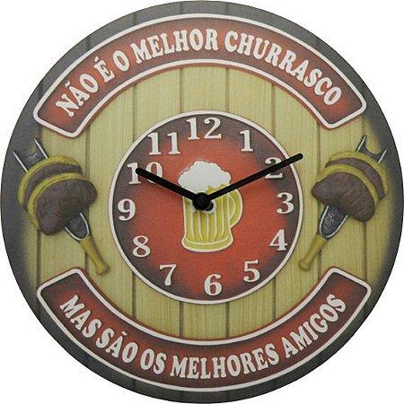 Relógio Melhores Amigos do Churras