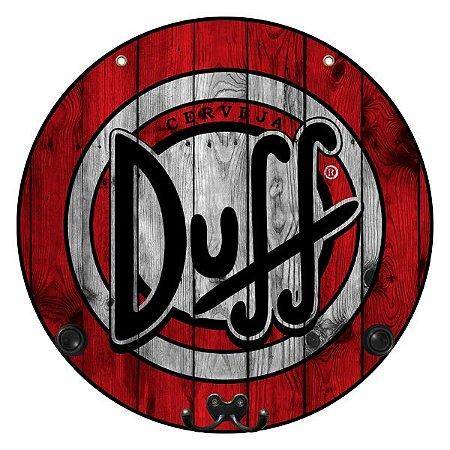 Placa Duff com Cabideiro