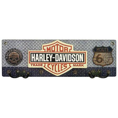 Cabideiro de Parede Motor Cycles Harley
