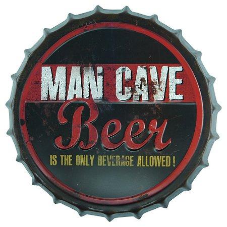 Tampa Decorativa Man Cave