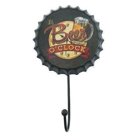 Cabideiro de Parede Tampa Beer Oclock