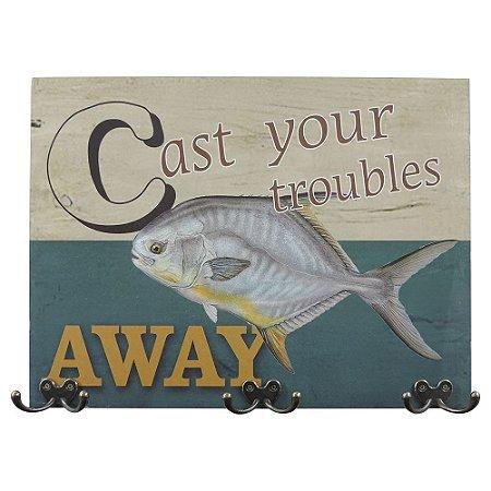Cabideiro de Parede Peixe Away