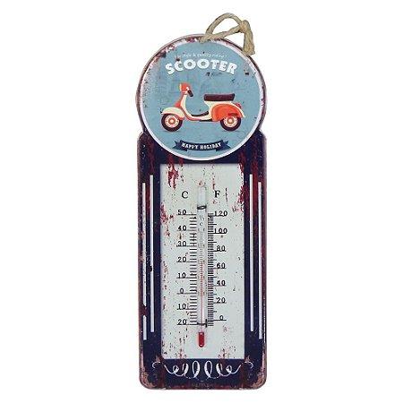Termômetro Vintage Scooter