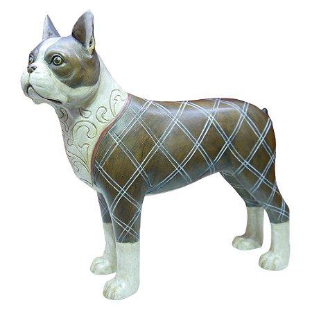 Decorativo Cachorro Inglês de Resina