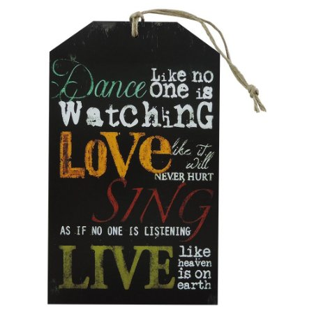 Decorativo Tag Parede Love Sing
