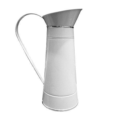 Vaso de Metal Colors Branco