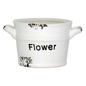 Vasos Flower de Cerâmica Pequeno
