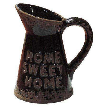 Vaso de Cerâmica Jarro Preto